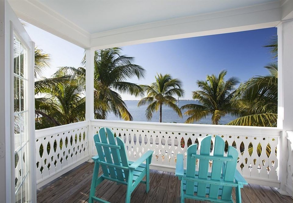 tree building porch chair property house home white Villa Resort cottage caribbean mansion Deck