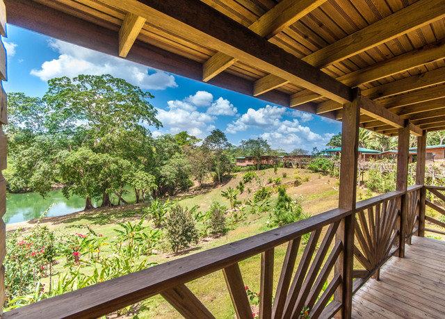 porch building property Resort Deck wooden home Villa cottage outdoor structure overlooking colonnade