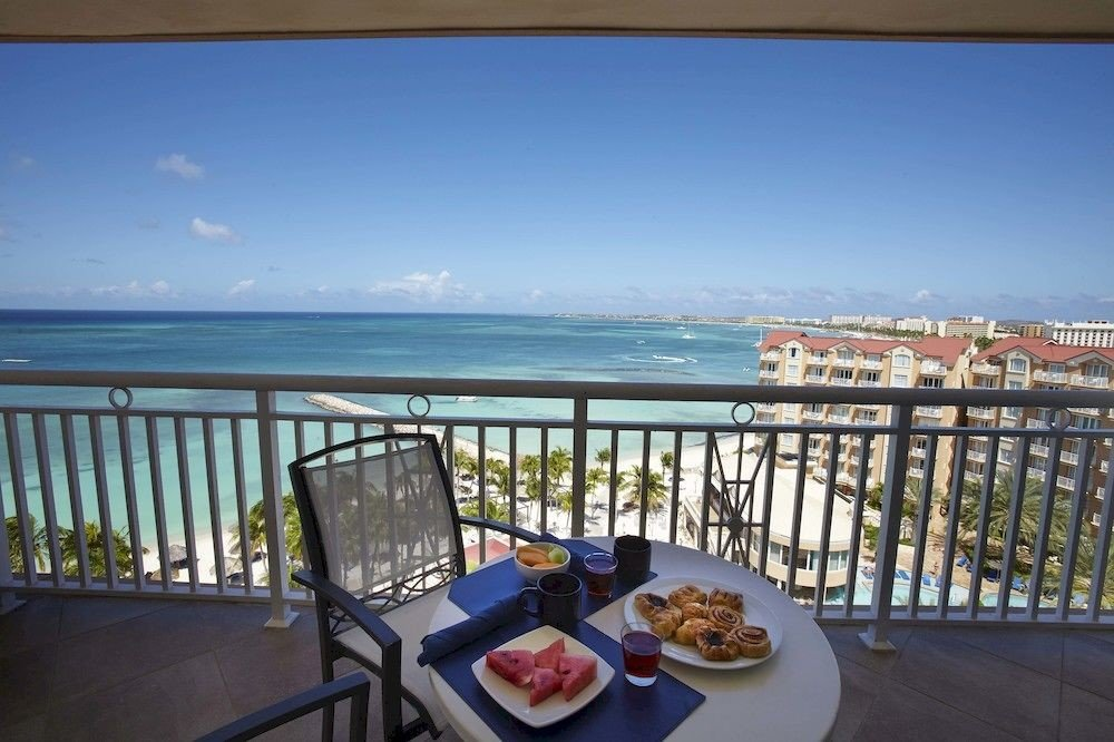 property Villa condominium Resort caribbean cottage Deck overlooking shore