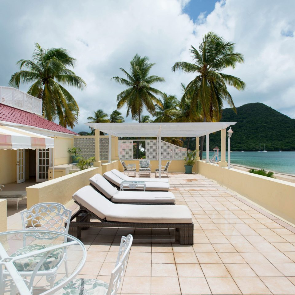 sky property swimming pool leisure Villa Resort house condominium caribbean home mansion Deck