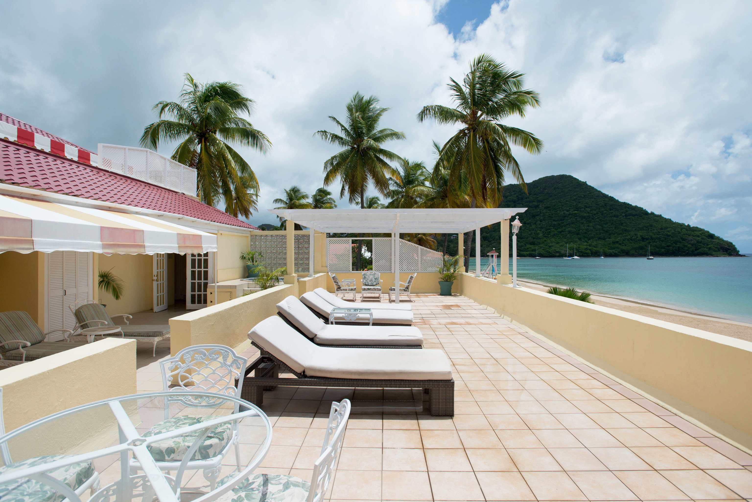 sky property swimming pool leisure Villa Resort house condominium caribbean home mansion Deck