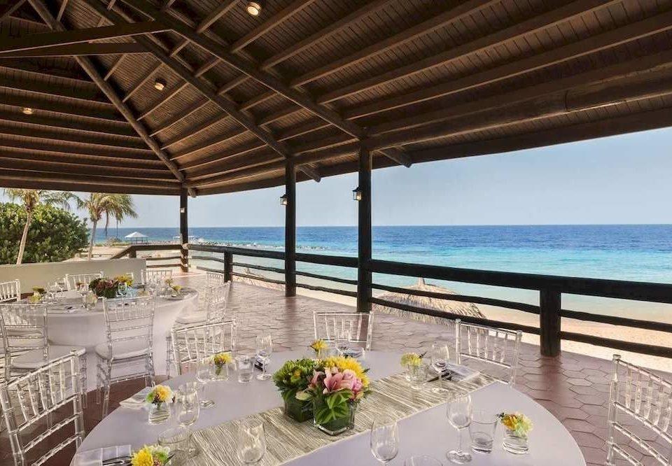 swimming pool property Resort Villa caribbean Deck overlooking