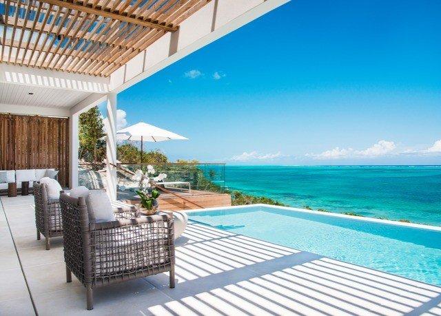 chair swimming pool property caribbean leisure Resort Deck Villa condominium cottage shore