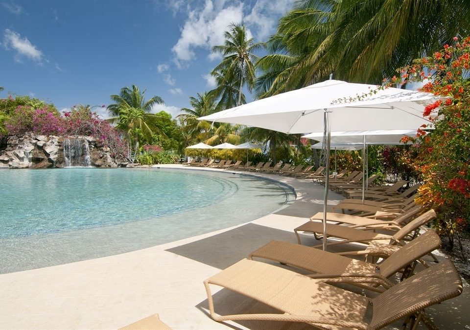 tree swimming pool leisure property Resort Villa caribbean condominium shore Deck