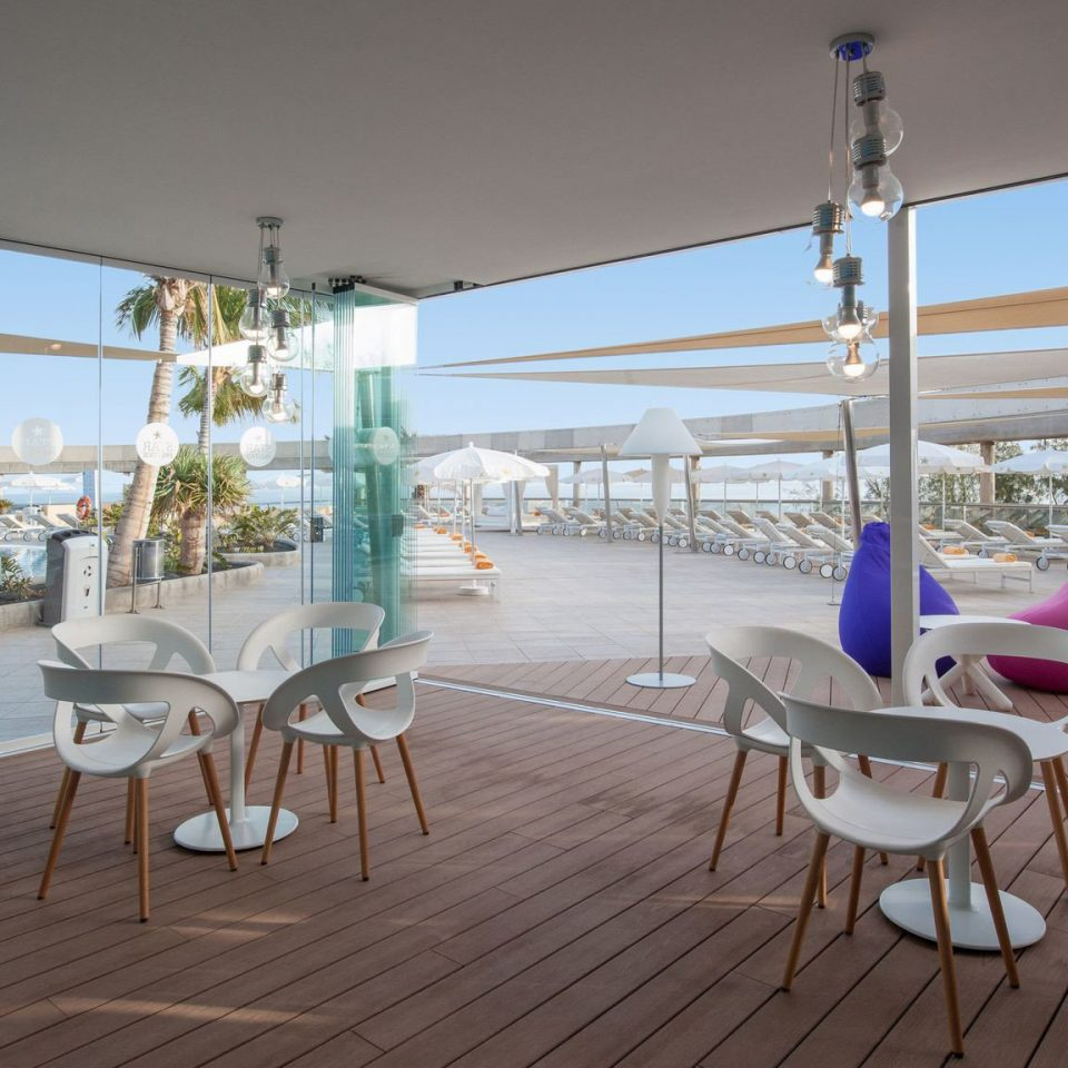 chair property Resort restaurant home Villa condominium Deck