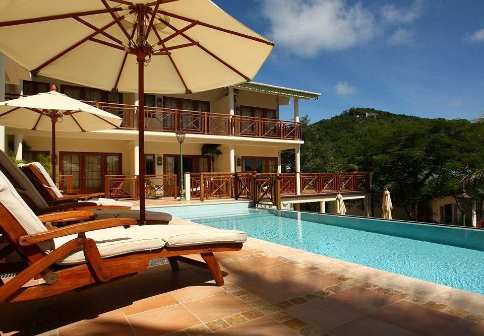 chair swimming pool property leisure Resort Villa home mansion condominium empty Deck