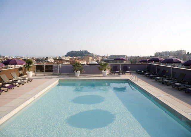sky ground swimming pool property Resort Villa reflecting pool condominium Deck