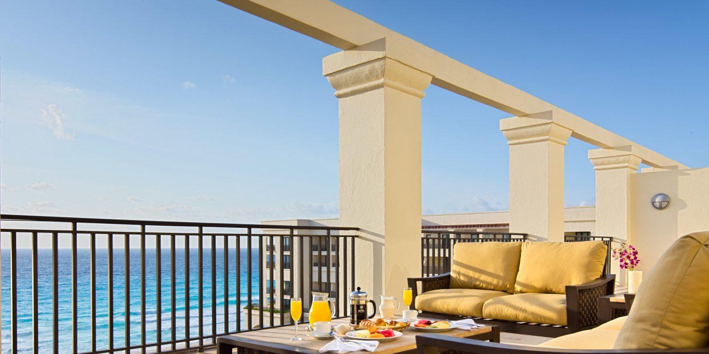 sky property building Villa home cottage overlooking outdoor structure condominium Deck