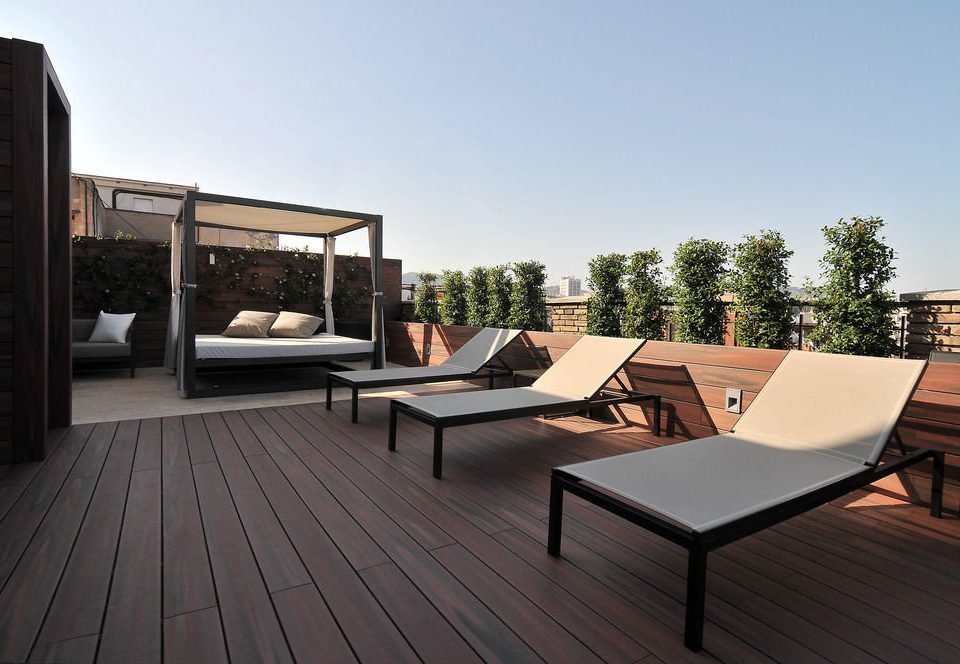 sky property house home outdoor structure Villa living room wooden Deck condominium