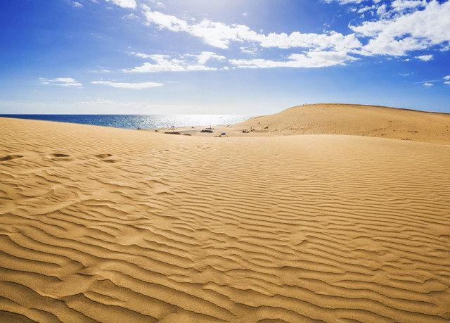 sky Nature habitat natural environment erg sand aeolian landform dune landscape Desert sahara material wadi shore clouds day sandy