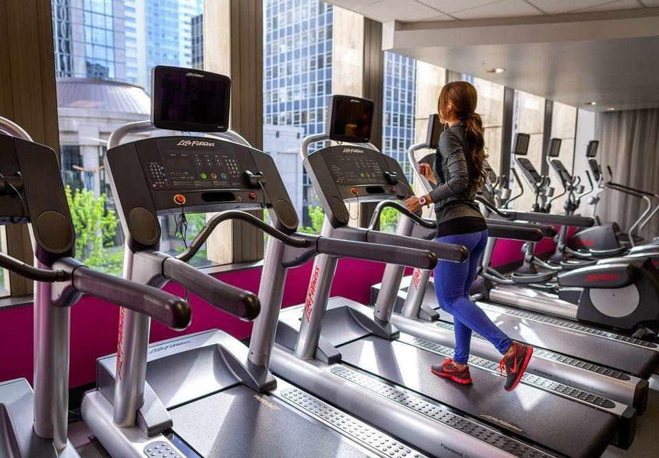 structure gym sport venue leisure desk office exercise machine