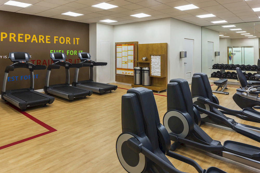 structure gym sport venue desk office physical fitness