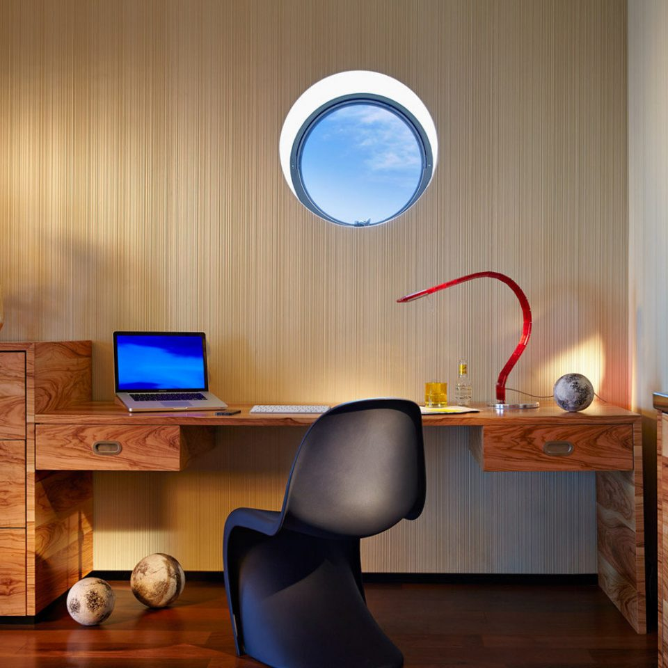 desk living room lighting home wooden