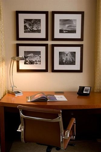 desk office living room home