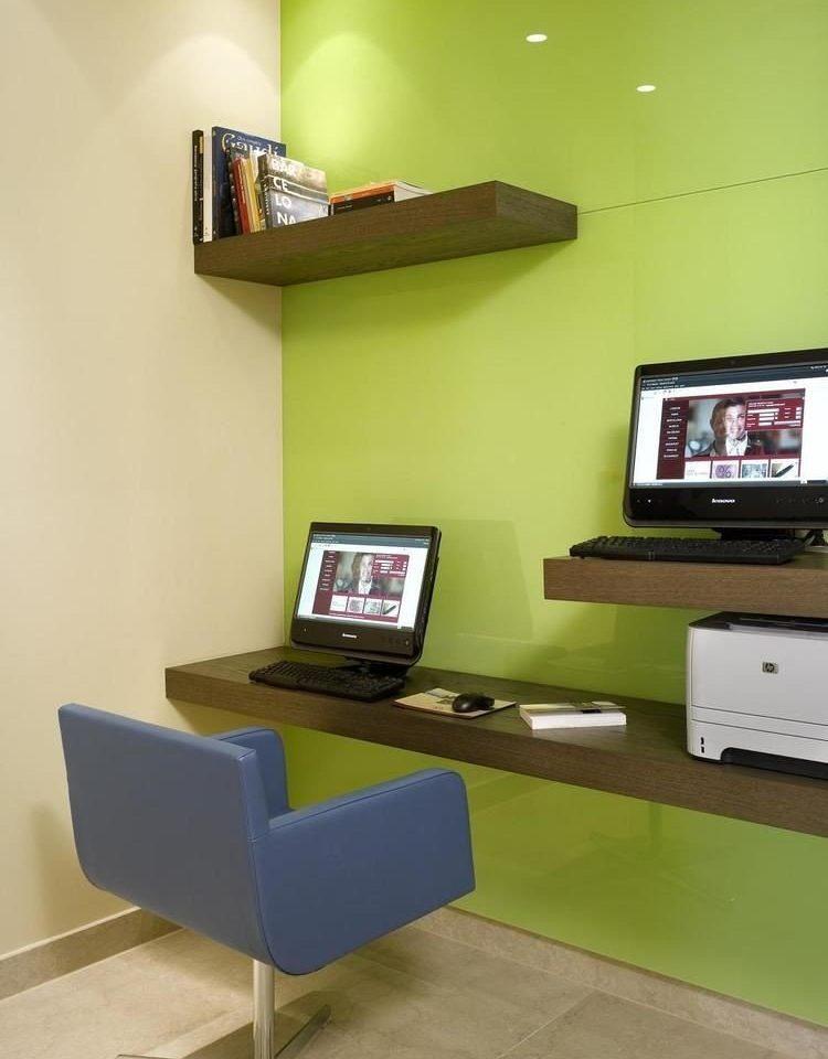 property desk office living room shelf home