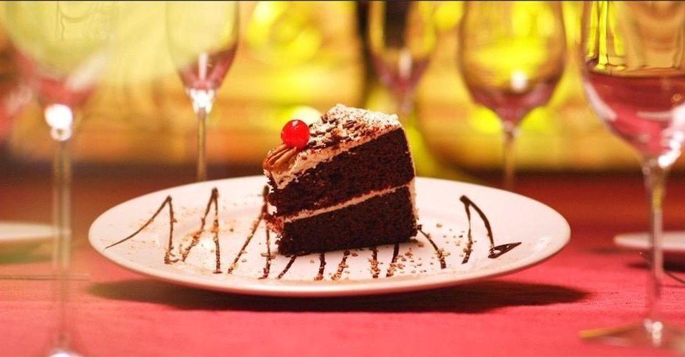 wine food dessert glass