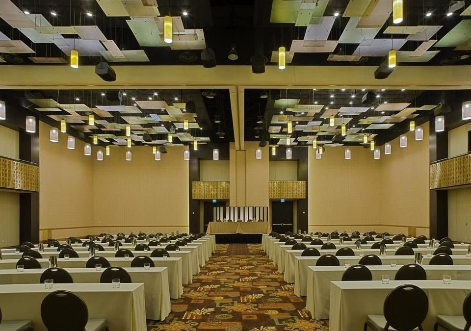 auditorium function hall conference hall convention center convention ballroom meeting academic conference Dining