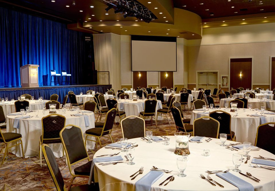 function hall banquet conference hall convention academic conference ballroom meeting convention center event restaurant wedding reception Dining auditorium dining table