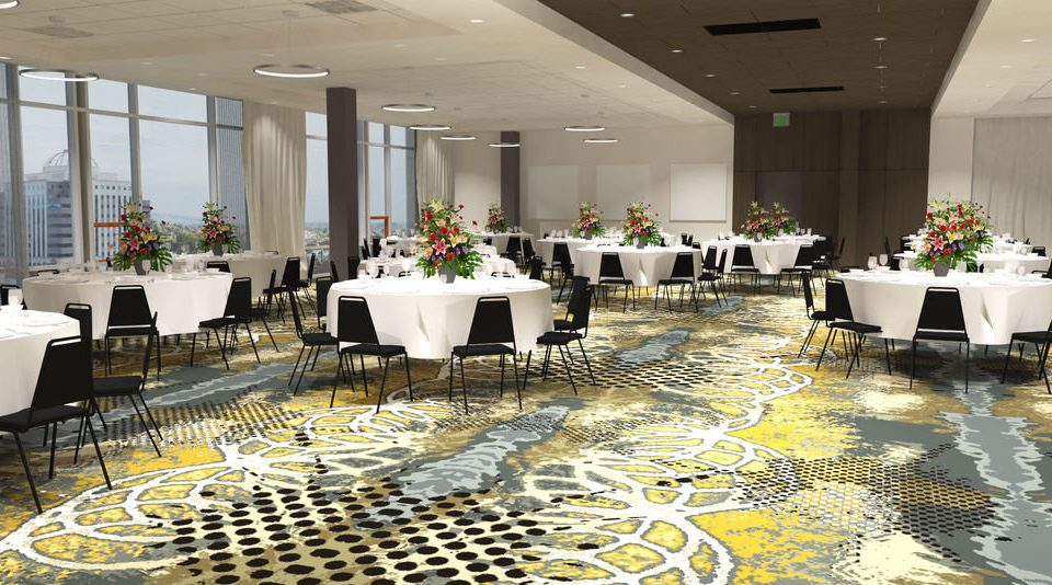 chair function hall building Dining banquet aisle wedding ceremony ballroom wedding reception convention center conference hall floristry flooring