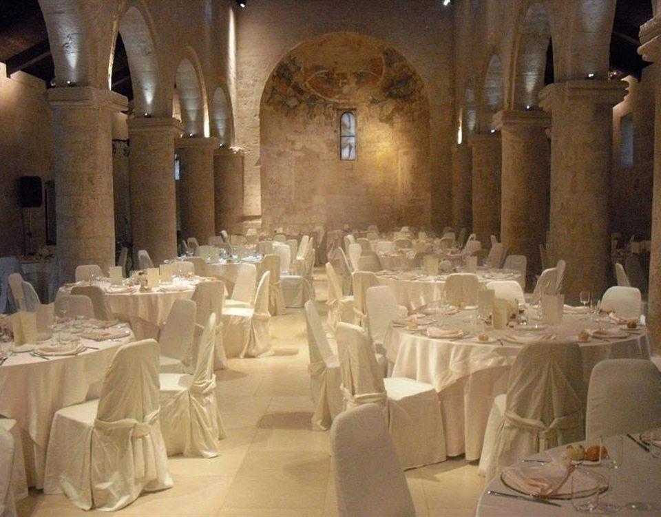 function hall banquet Dining restaurant ballroom aisle long