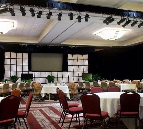 chair restaurant function hall banquet conference hall convention center Dining auditorium ballroom dining table