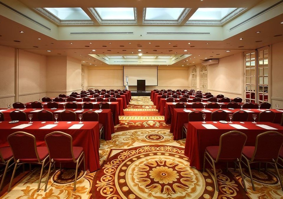chair function hall red auditorium conference hall Dining banquet meeting ballroom convention center event convention