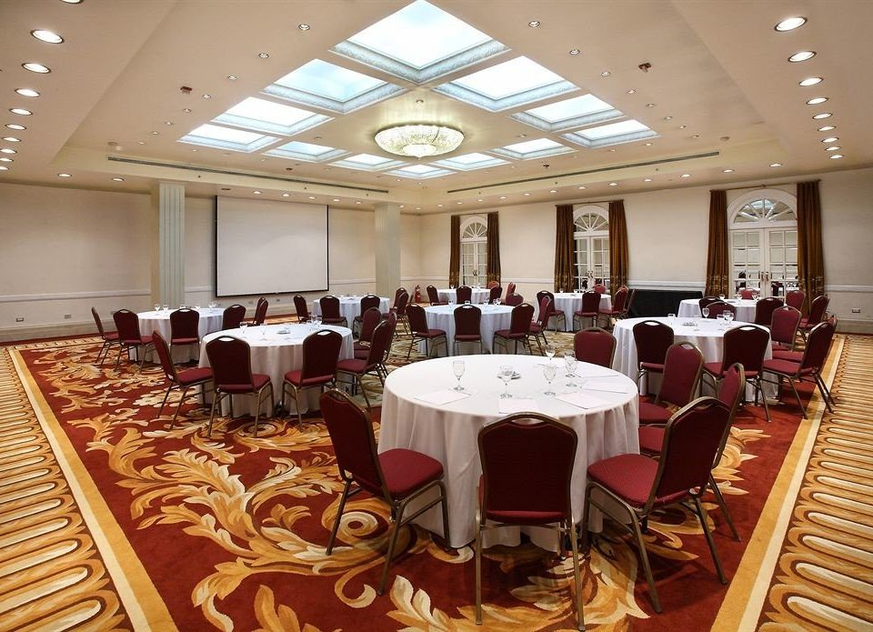 chair function hall conference hall banquet auditorium ceremony ballroom convention center meeting restaurant Dining
