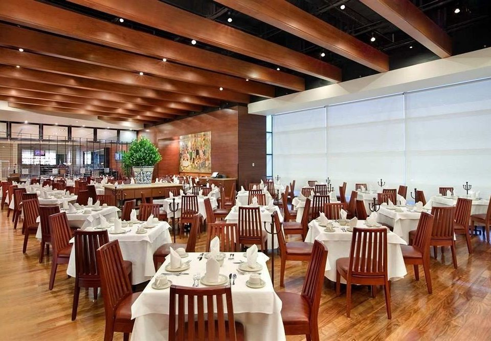 chair Dining function hall restaurant conference hall banquet convention center ballroom white auditorium dining table