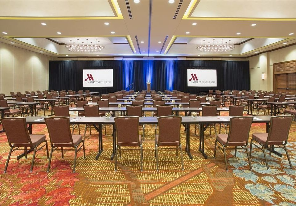 chair function hall conference hall auditorium banquet convention center meeting ballroom Dining set conference room