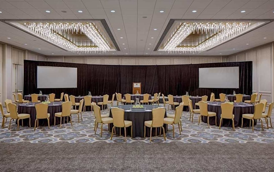 chair function hall conference hall banquet ballroom auditorium convention center meeting convention Dining empty
