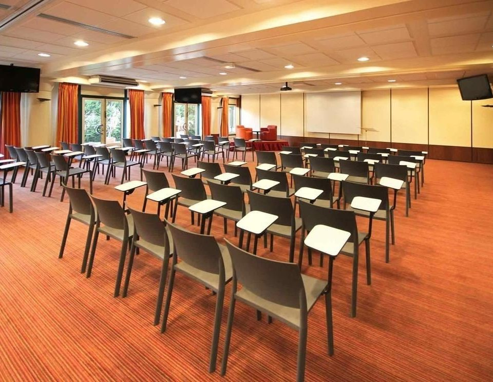 chair auditorium function hall conference hall scene classroom cafeteria Dining convention center ballroom restaurant