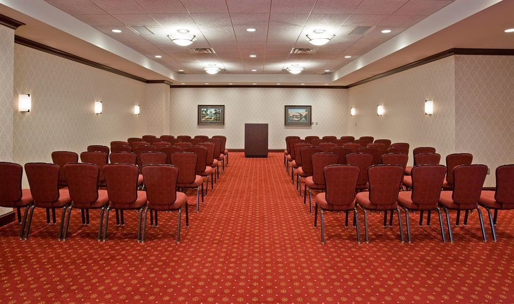 chair auditorium conference hall Dining function hall meeting convention center convention empty ballroom lined set conference room