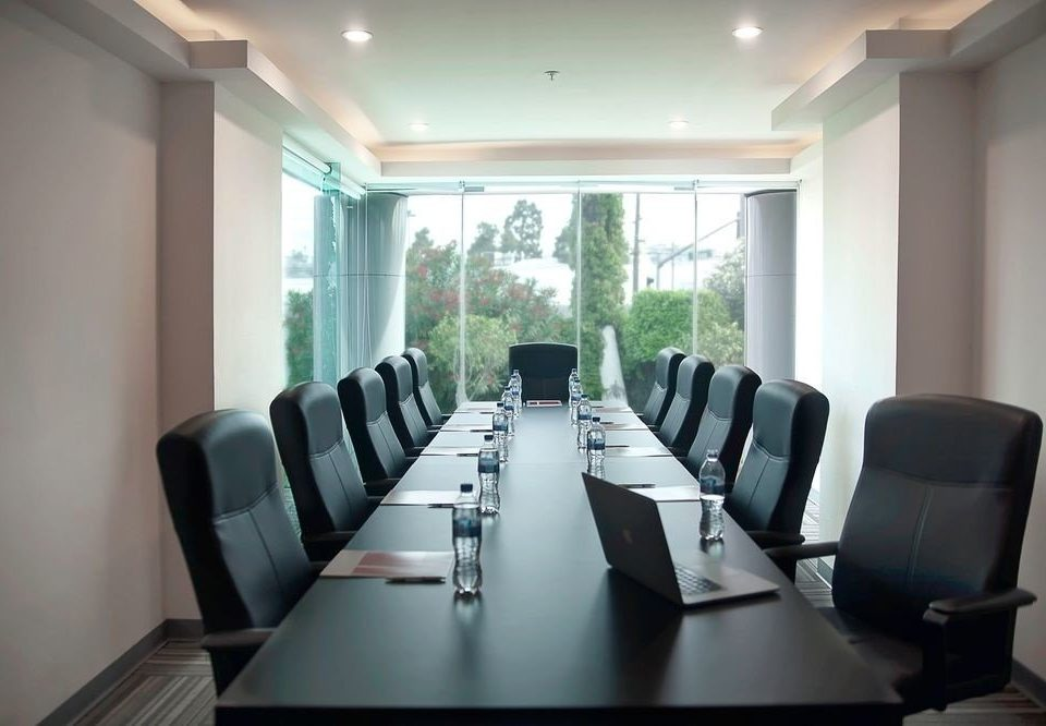 property conference hall scene seminar waiting room classroom auditorium meeting Dining condominium conference room set leather dining table