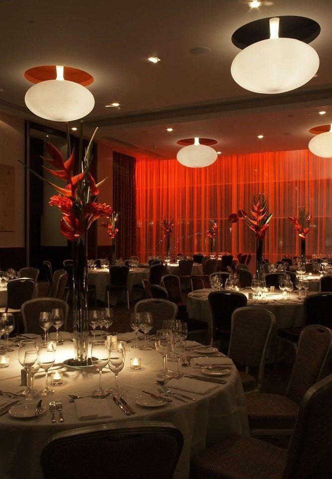 function hall restaurant banquet wedding reception lighting wedding ballroom conference hall Dining centrepiece set fancy