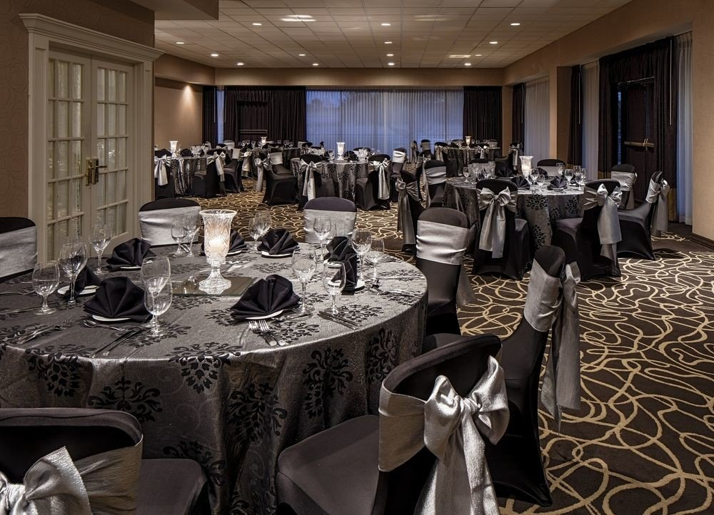 function hall banquet conference hall ceremony ballroom Dining wedding wedding reception event meeting convention convention center fancy dinner dining table