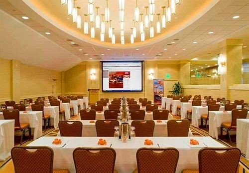 function hall chair conference hall scene convention center banquet meeting ballroom Dining restaurant