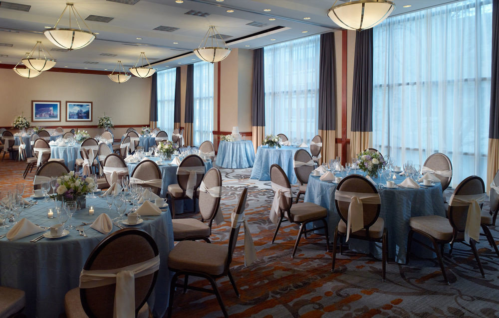 chair function hall restaurant banquet conference hall meeting Dining ballroom convention center