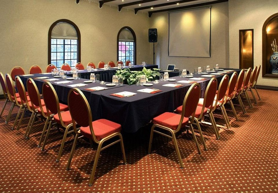 chair function hall restaurant banquet conference hall Dining ballroom set dining table