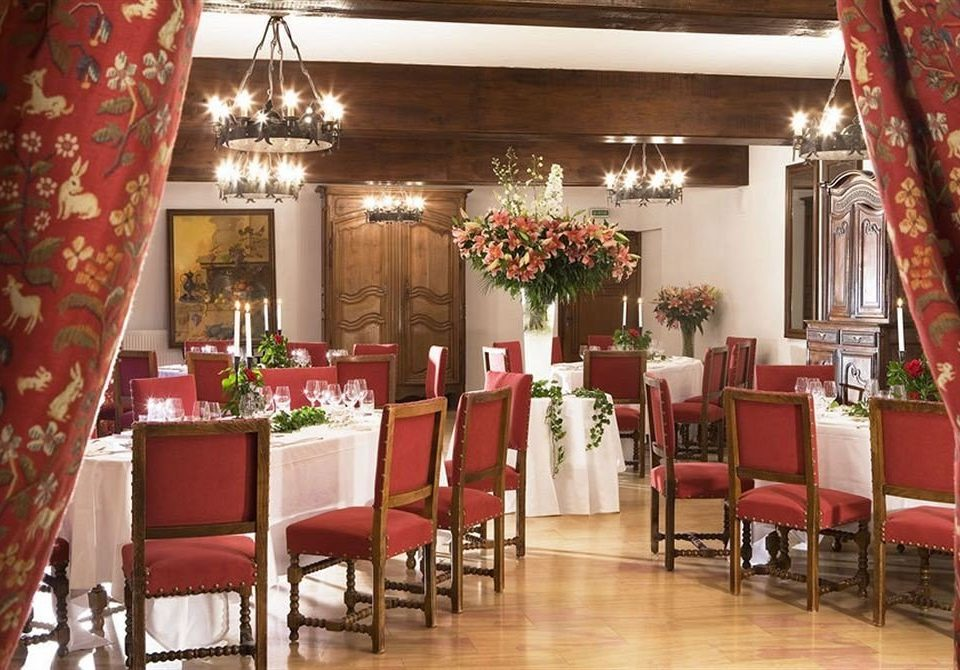 chair red restaurant Dining function hall curtain ballroom banquet