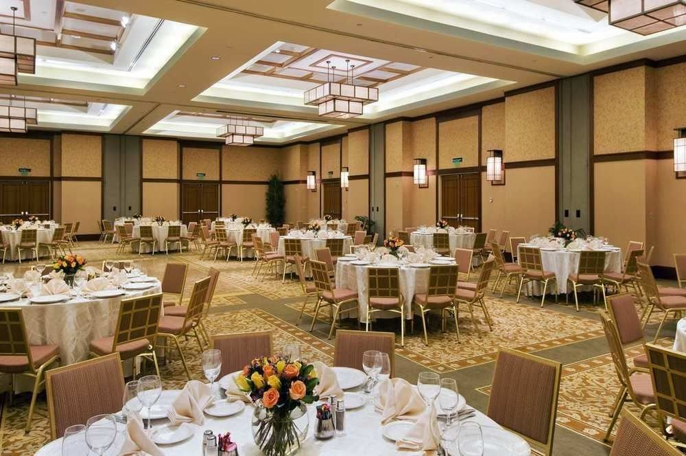 chair function hall Dining banquet restaurant ballroom convention center conference hall set dining table