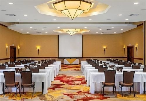 function hall chair Dining banquet conference hall white restaurant ballroom convention center meeting long fancy set conference room