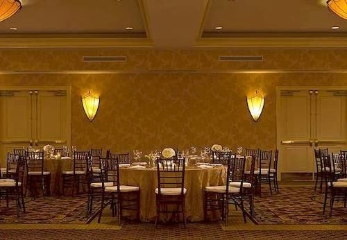 chair function hall restaurant banquet Dining ballroom conference hall set dining table