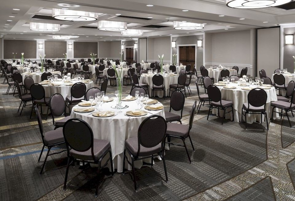 chair function hall banquet conference hall Dining ballroom restaurant meeting wedding reception convention convention center