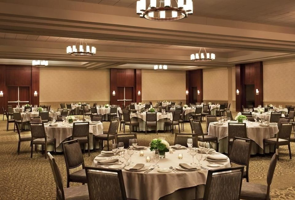 chair function hall restaurant Dining conference hall banquet ballroom convention center