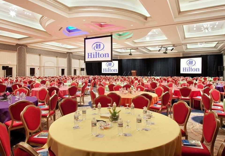 chair function hall banquet Dining conference hall ballroom convention center restaurant