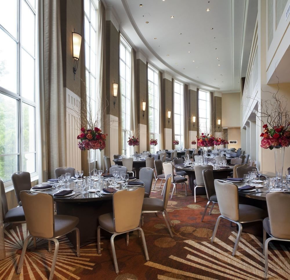 chair restaurant function hall conference hall Dining banquet ballroom