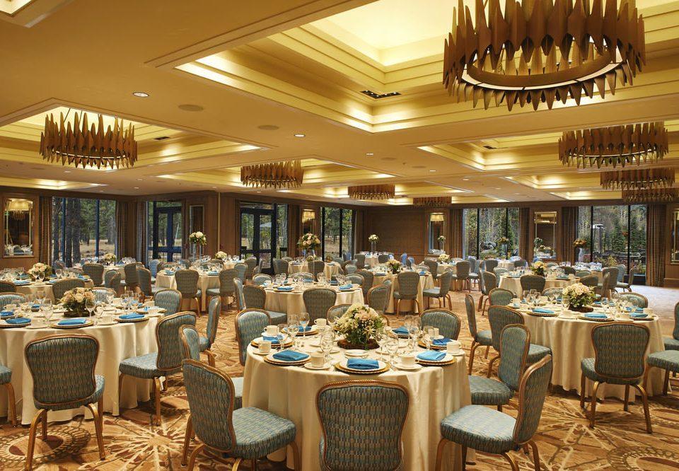 chair function hall banquet restaurant ballroom Dining wedding reception convention center set