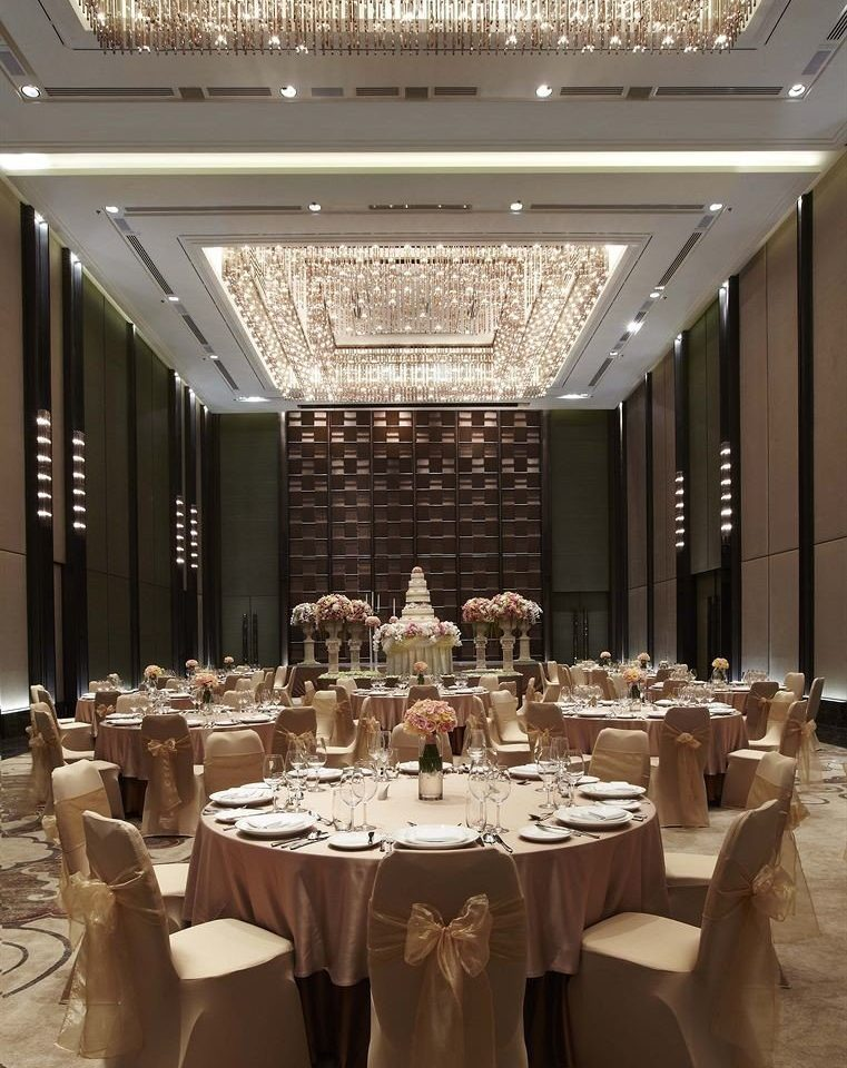 function hall banquet ballroom conference hall Dining convention center wedding reception restaurant fancy dining table