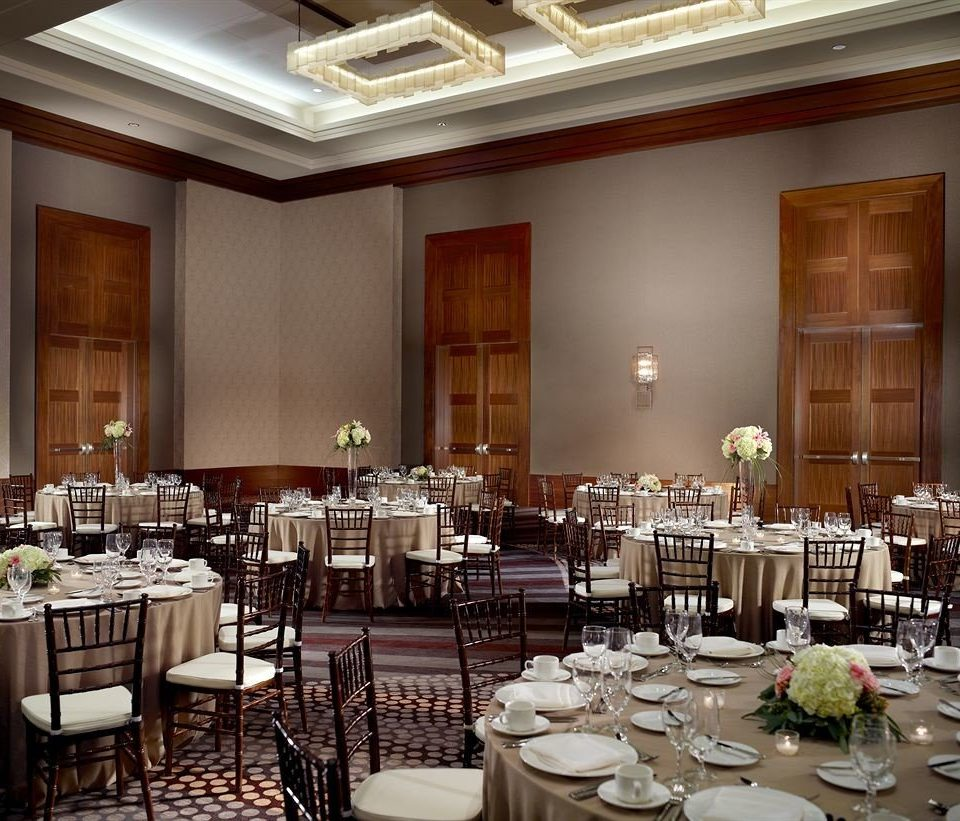 plate function hall Dining restaurant ballroom banquet set conference hall dinner fancy dining table