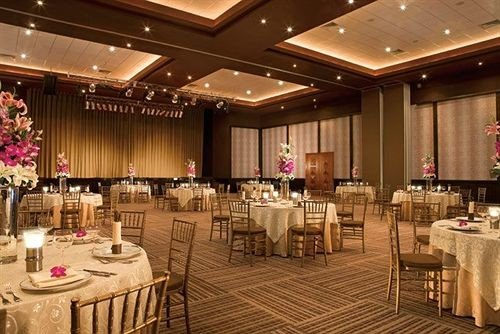 function hall banquet conference hall ballroom convention center Dining restaurant fancy wedding reception